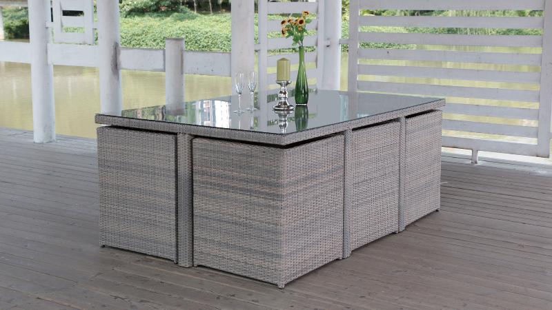 Ensemble Table Et Chaise Exterieur. Perfect Asiatique Extrieur Modes ...