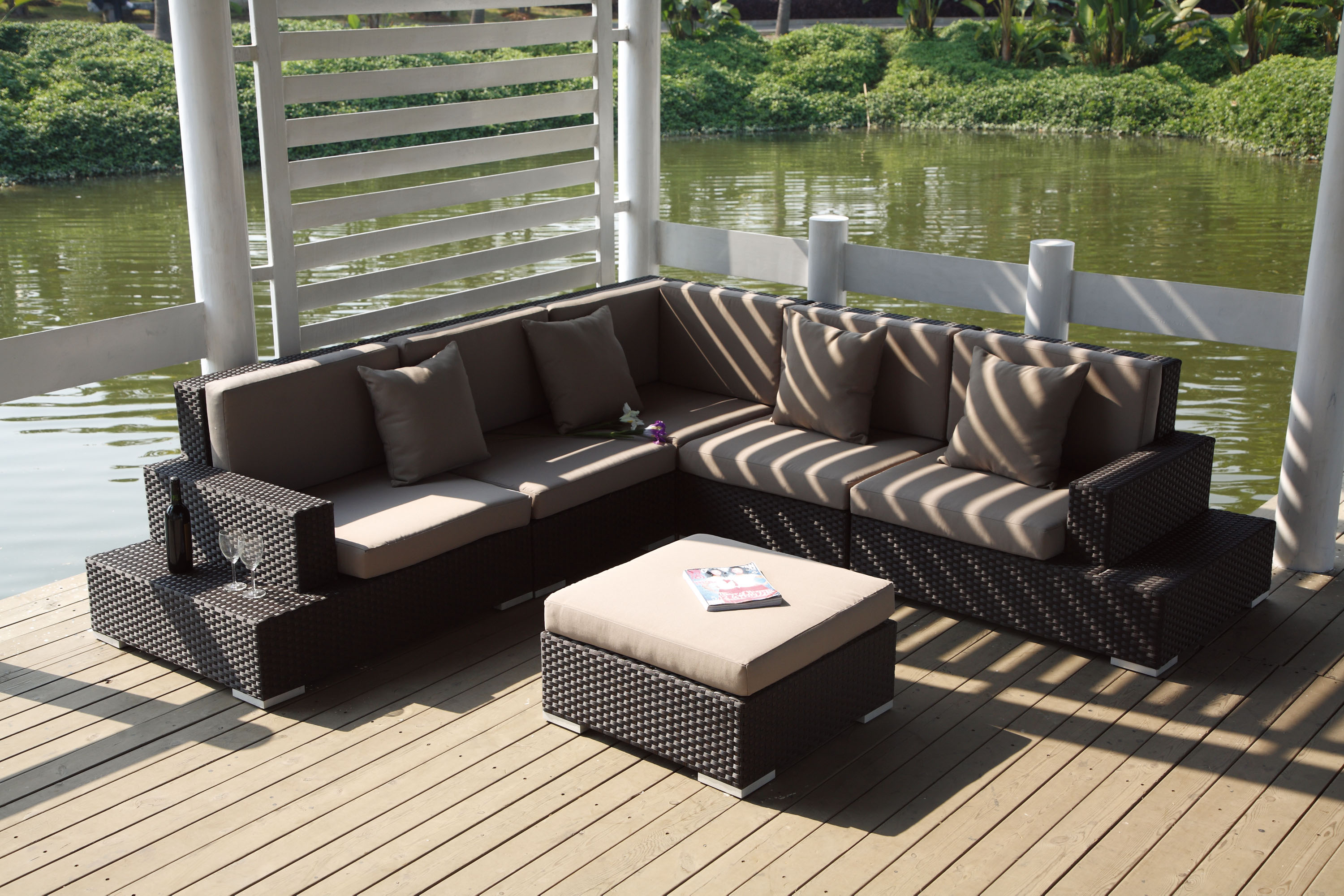 Mobiliers de jardin le blog du design ext rieur for Salon de terrasse
