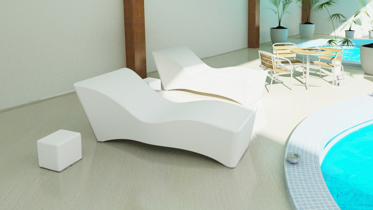 Mobiliers de jardin le blog du design ext rieur for Chaise longue design piscine