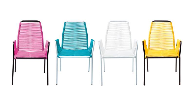 Chaise Fil Plastique Bamako 4 Couleurs Mobiliermoss